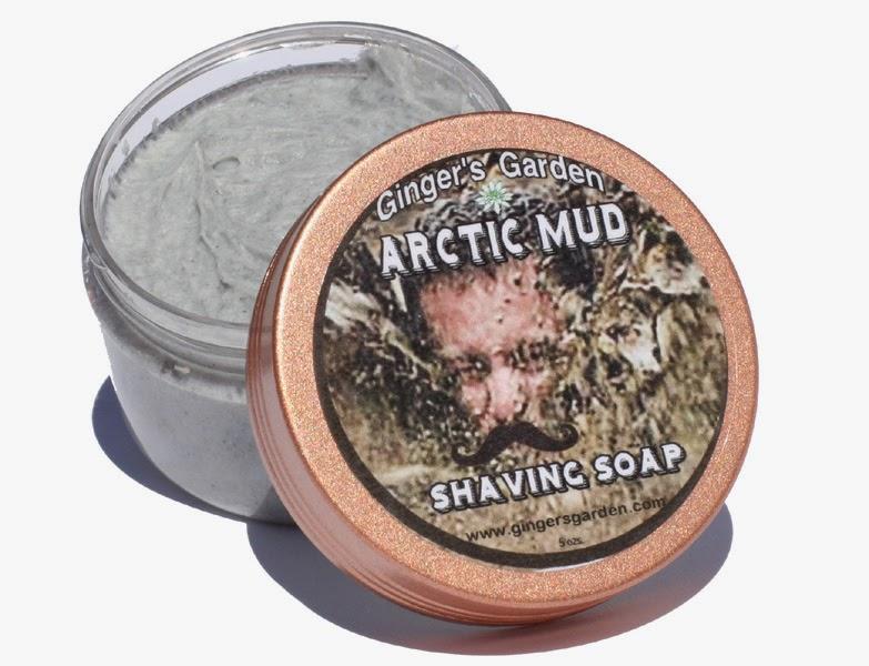 Arctic Mud Menthol Natural Shaving Soap