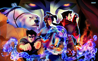 Legend of Korra Charater Amon Korra Mako Bolin Fire Water Earth Water Bending HD Wallpaper Desktop PC Background 1642