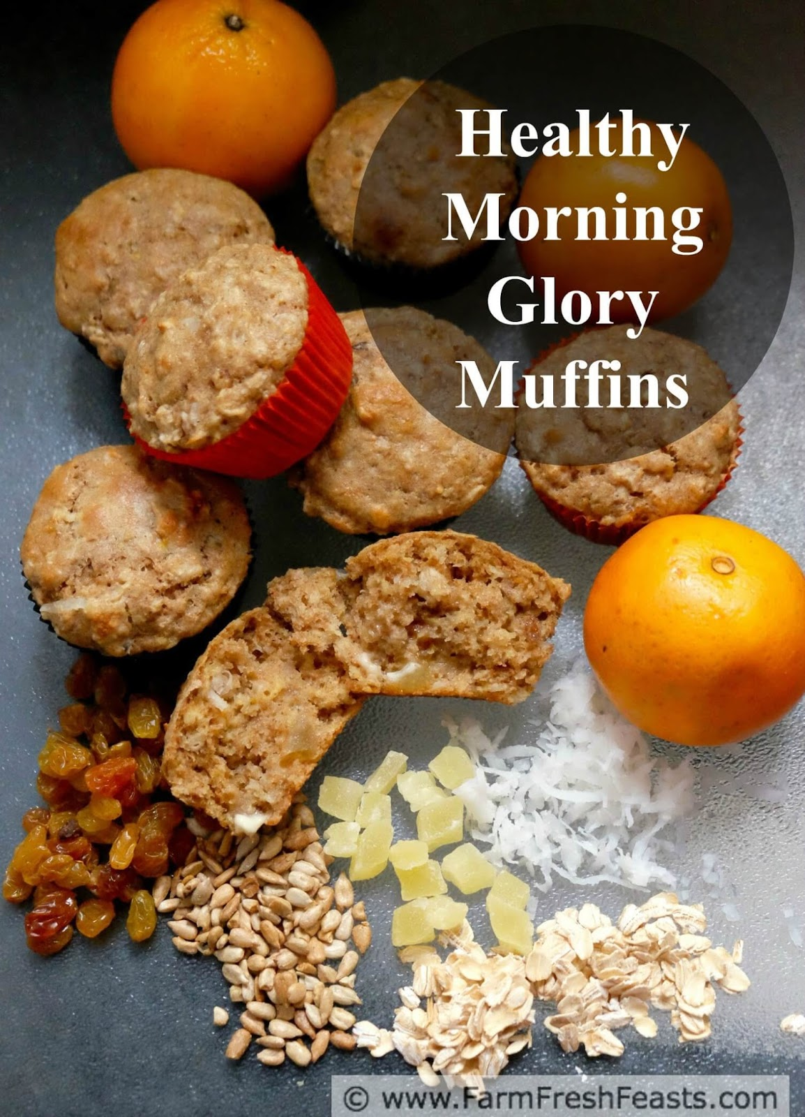 Farm Fresh Feasts: Healthy Morning Glory Muffins