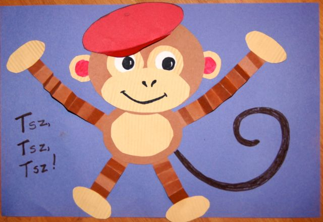 Hurray for fdk july 2012 for Monkey crafts for preschool