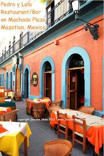 Pedro y Lola patio, Mazatlan  copyright Jerome Shaw 2013 / www.JeromeShaw.com