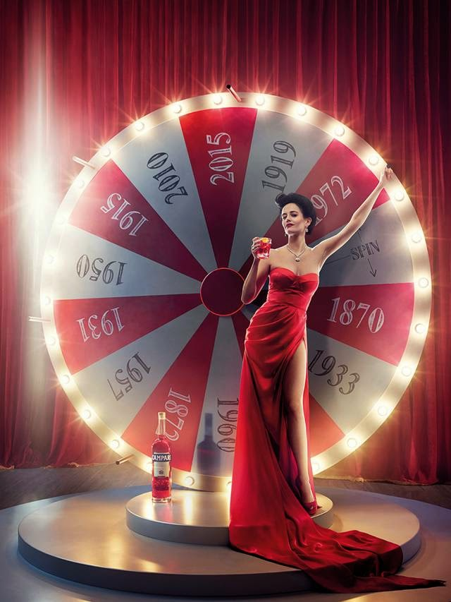 Eva Green in Campari Calendar Photoshoot 2015