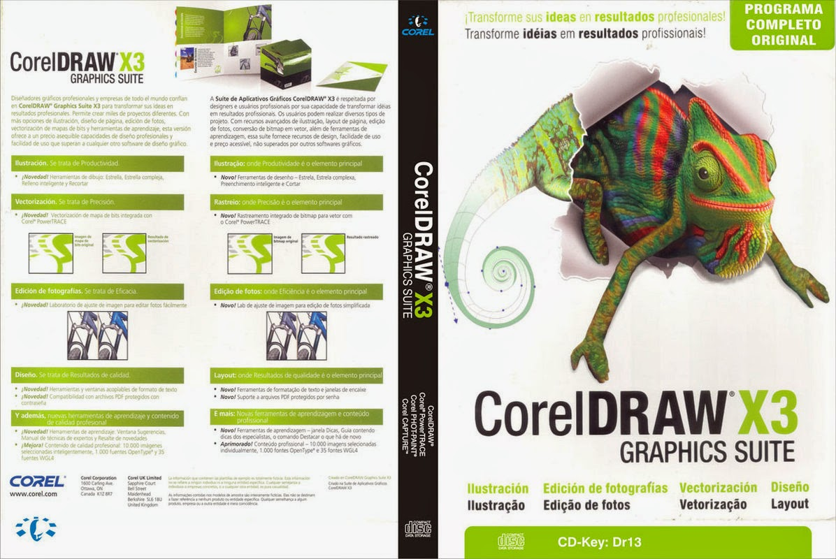 Corel DRAW X3 (Compress) Full Version