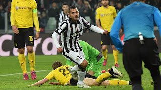Juventus 2 - 1 Dortmund
