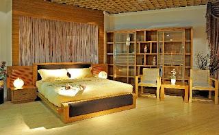 decoracion con bambu