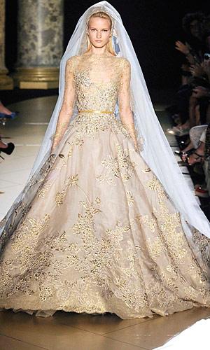 Matte gold color dresses
