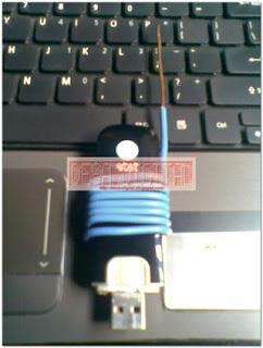 Cara Pemasangan Antena Induksi pada Modem Sierra, Antena Murah, Antena Sederhana, Antena Internet, Cara membuat Antena Sendiri