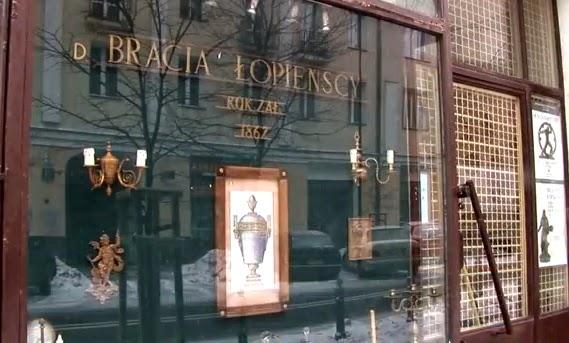 Pracownia sztuki dekoracyjnej d. Bracia Łopieńscy.