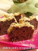 Gaštanový chlebík s čokoládou - recept