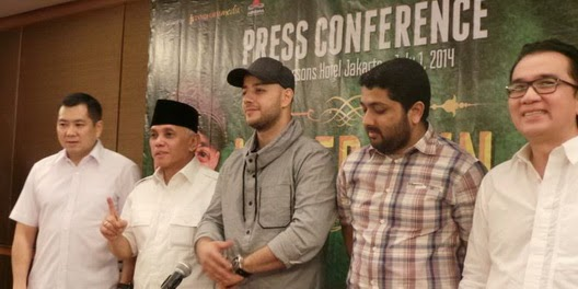 Press Conference Maher Zain