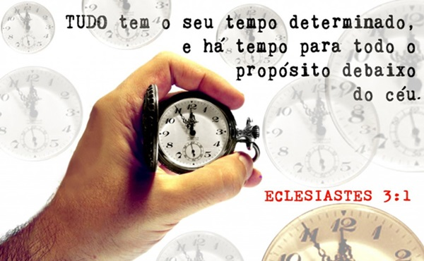 Saiba Esperar o Tempo de Deus