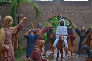 triumphant entry of Christ at Garin farm