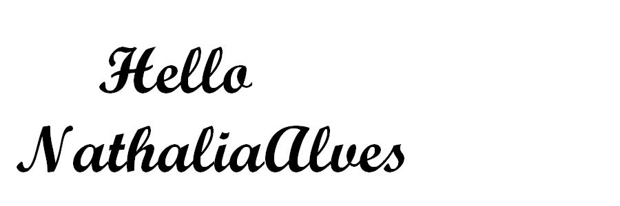 hellonathaliaalves