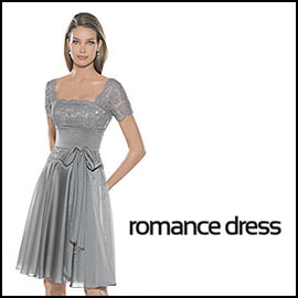 Silver Knee-length Homecoming Dress
