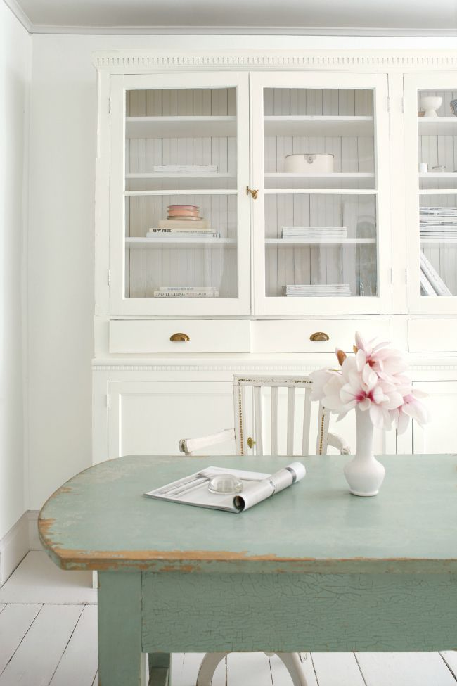 Farmhouse style office and craft room.