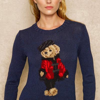 Polo bear jumper