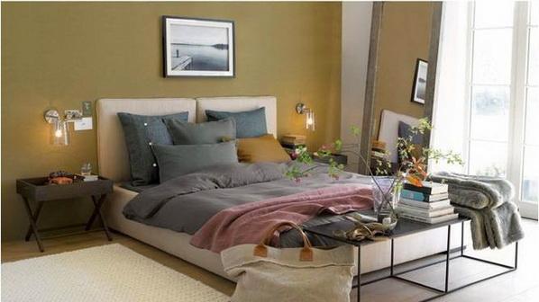 Deco chambre interieur parfaites id es de couleur des murs pour la d coratio - Idee couleur maison interieur ...