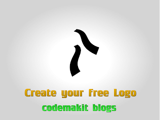 Make your own website Logo easily Front