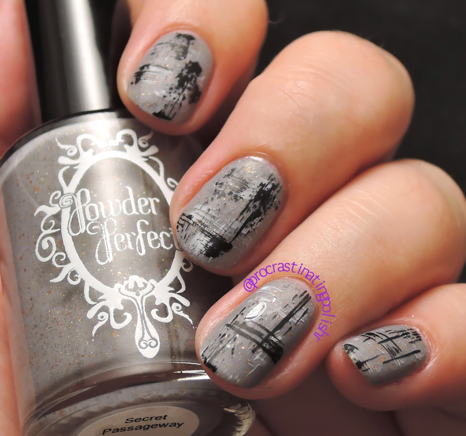 Distressed nails | Indie Nail Art