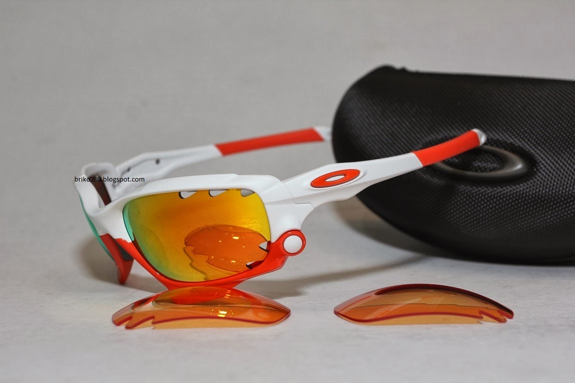 oakley racing jacket white frame