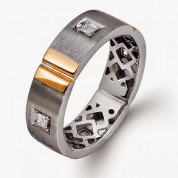 fotos de anillos para hombres - Encuentre su tamaño de anillo Blue Nile