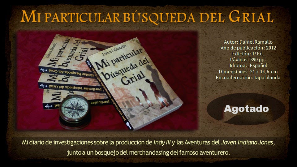 """LIBRO """"Mi particular búsqueda del Grial""""."""