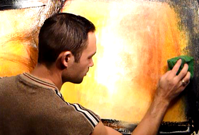 On canvas for your abstract art painting modern techniques and ideas