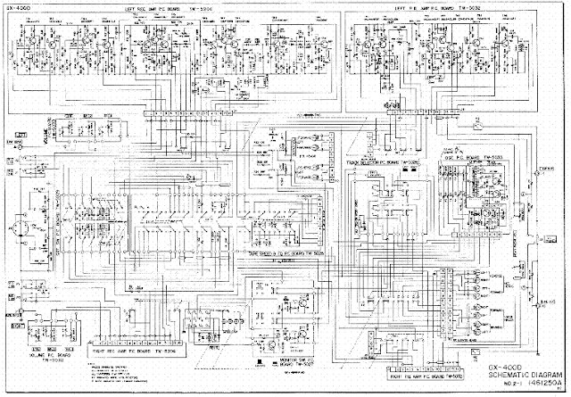 akai tv am-2250 and at-2250 circuit diagram