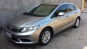 Classificados: vende-se Civic LXS 1.8 Automático 12/13 - Baixou o preço: R$51.000,00