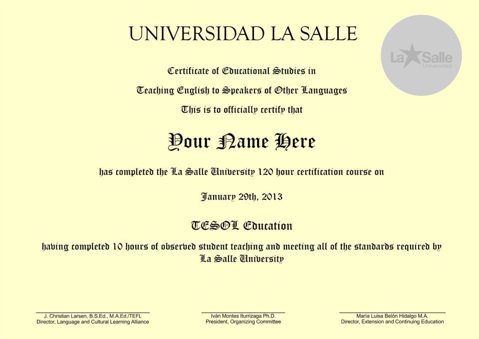 Via Lingua Latin America Uwec Joint Tefl Project
