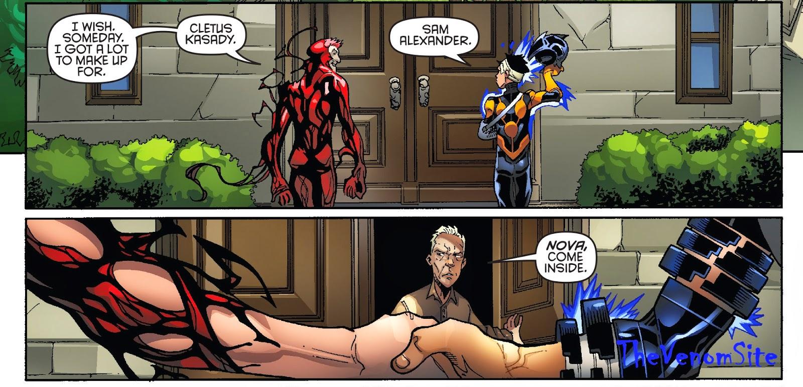 Follow Nova's comic book series for future cameos of Carnage