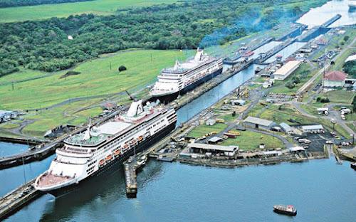 CANAL DO PANAMÁ - O ELO ENTRE O OCEANO ATLÂNTICO E O OCEANO PACÍFICO