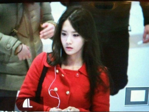 แอบถ่าย YoonA (SNSD) ในสนามบิน