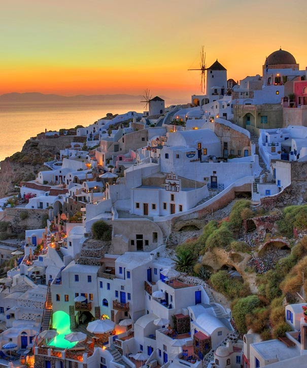 Santorini, Greece - Most Beautiful Places You Must Visit Before You Die