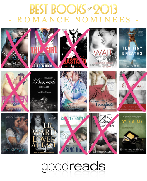 Best romance books goodreads