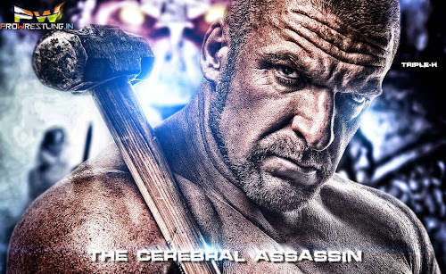 """Download Triple-H """"The Cerebral Assassin"""" HQ Wallpaper (Designed By Bhabani)"""