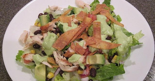 ... and Her Family: Southwest Chicken Salad with Avocado Lime Dressing
