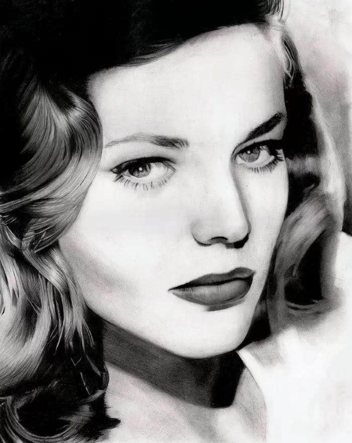 Портреты гламурных женщин. Stan Bossard
