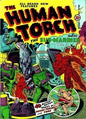 Human Torch Comics #3 comic