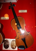 This violin belonged to Charles Barleen who passed away in 1947.