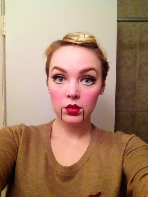 hannah explains it all halloween puppet makeup