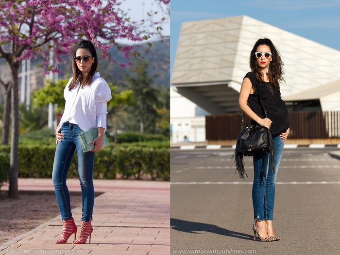 Resumen de los looks de Junio de la blogger de Valencia withorwithoutshoes