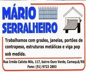 Mário Serralheiro - Camaquã/RS