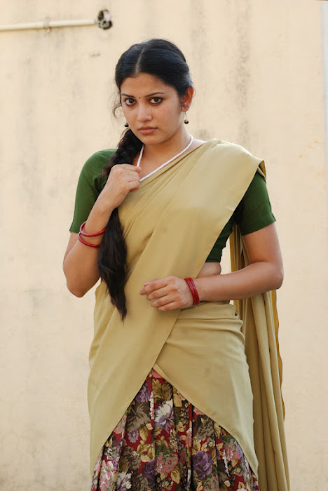 shivada nair half saree @ nedunchalai movie cute stills