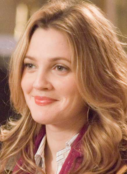 Drew Barrymore: because in a non-stalker type way, I reckon we'd get on!