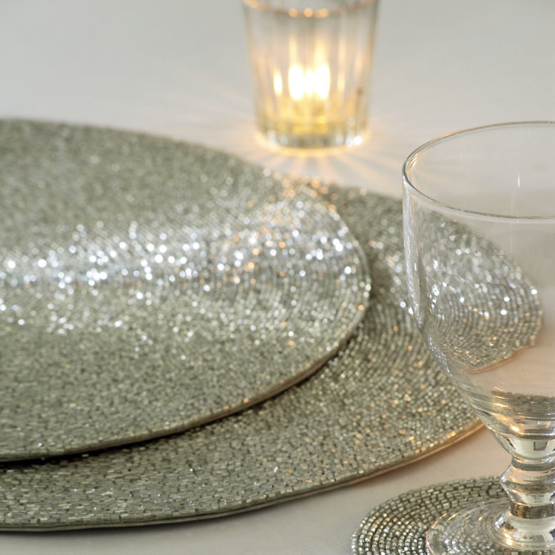 Home restyler make your home sparkle this bonfire night for Glass table placemats