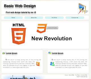 Arafa Daming - Basic Web Design