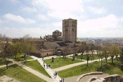 Zamora parque del castillo