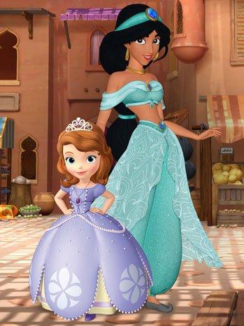 "Disney Princess: Nuevas princesas en ""Sofia la princesa"" / ""New princesses at Sofia the first"""
