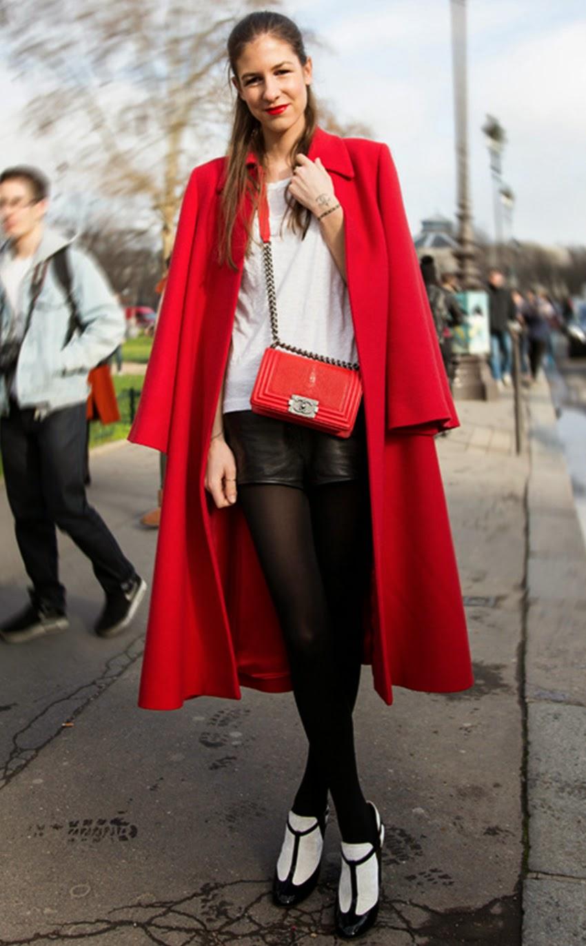 Paris Fashion Week Autumn-Winter 2014 Street Style Snapshot Part 4
